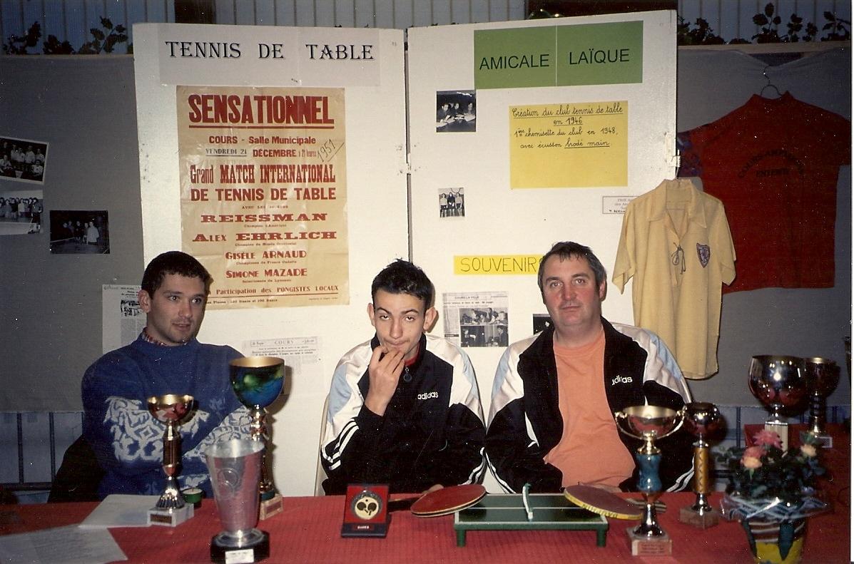 1999 12 18 forum des associations - Calculateur de points tennis de table ...